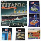 3D Puzzle - Famous Landmarks Buildings & Transport- 20+ Designs - Choose Puzzle