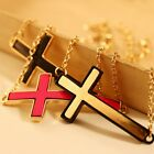 Fashion Korean Stylish Metal Cross Bracelet adjustable couple bracelet 3 colors