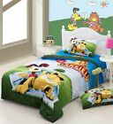 *** Oh Garfield Single Bed Quilt Cover Set - Flat or Fitted Sheet ***