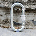 FREE POSTAGE 22KN Height Safety Steel Screw Gate Karabiner / Carabiner / 107mm