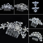 Wedding Shining Hair Bridal Comb Crystal Pearl Bridesmaid Formal Beauty