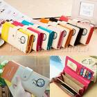 Hot Fashion Lady Women PU Leather Long Purse Wallet Clutch  Zip Bag Card Holder