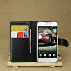 4Color Wallet Leather Case Cover + Film For LG Optimus F6 D505 D500 #i
