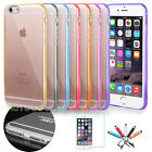 Slim Transparent Crystal Clear Hard TPU Case for Apple iPhone 8 / 7 / 6 Plus #49