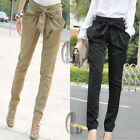 HIGHT RISE WOMENS BAGGY HAREM CASUAL WORK OFFICE PANTS  AU SELLER P005