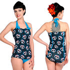 Banned Clothing Candy Panda Swimsuit Summer Punk Lolita One Piece Swimwear