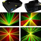 120mW RGY DMX Laser Light Disco DJ  Stage Party Lighting show equipment projecto
