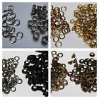 100 X 4mm Eyelets & Washers In Gun Metal Gold Silver Bronzes - Seller