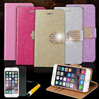 Bling Glitter Stand Magnetic Flip Wallet Hard Cover Case for iPhone 6 / 6S #C5