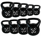 GYM FITNESS TRAINING VINYL KETTLEBELL WEIGHTS 4KG - 20KG And Full Sets!!