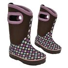 Neoprene Girls School Rain Rubber Wellies Children Snow Winter Wellington Boots
