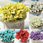 144pcs Mini Colourfast Foam Calla Lily Bridal Bouquet Wedding Car Garland Decor