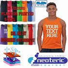 AWDis 007 Personalised Printed Mens Cool Vest Running Training Gym Fitness Top