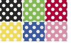 POLKA DOTS Paper Napkins x 16 - Dotty / Spotty Party Tableware Decorations