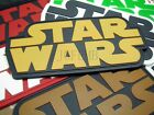 STAR WARS Logo Tactical military morale 3D PVC Patch 10cm*5cm $6.49 CAD