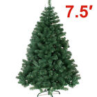 Artificial 7.5ft Tall Pine Unit Christmas Tree Classic Natural Metal Stand