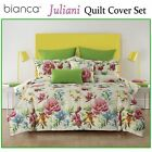 Juliani Quilt Cover Set by Bianca - DOUBLE QUEEN KING Super King Eurocases Cushi