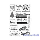 Kaisercraft clear stamps - 30 christmas theme Scrapbooking card making kaiser