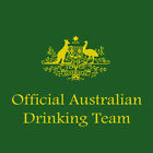 Official Australian Drinking Team Tshirt australia cricket big bash one day bat