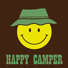 Happy Camper funny camping tshirt 4wd tee 4x4 tent stove cree coleman fishing