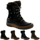 Womens Merrell Decora Sonata Waterproof Winter Hiking Fur Mid Calf Boots UK 3-8