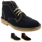 Mens Kickers Kick Lo Brogue Shiny Leather Lace Up Smart Work Office Shoe UK 6-12