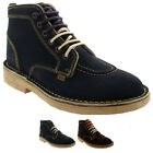 Mens Kickers Legendry Suede Lace Up Ankle High Work Office Smart Shoes UK 6-12