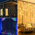 curtain light - 300/600/900/2400 LED Fairy String Curtain Light for New Year Christmas Party