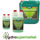 CANNA FLUSH CLEANS AND FLUSHES EXCESS NUTRIENTS FROM PLANTS IN 250ML 1 5L BOTTLE