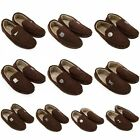 CLEARANCE Official Football Club Team - Mens Brown Moccasins Slippers Gift SALE