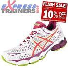 Asics Womens Gel Pulse 6 Premium Running Shoes Trainers White * AUTHENTIC *