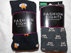 Primark Knitted Tights RACOON or FOX Print S-XL