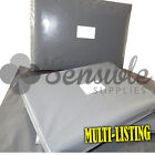 STRONG GREY PLASTIC POSTAL POSTAGE MAILING BAGS ENVELOPES PEEL & SEAL ALL SIZES
