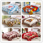 Floral/Cartoon/Stripe Soft Lush Warm MINK Comfort Blanket 150cmX200cm