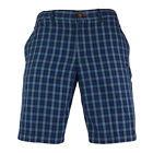 Mens Original Penguin Hob Plaid Total Eclipse Slim Fit Shorts