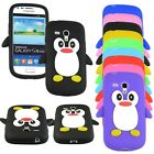 Pinguin Samsung Galaxy Duos S2 S3 S4 S5 Apple iphone 3 4 5 Silikon Schutzhülle