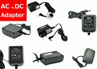 AC/DC Adapter Wall Mount Power Supply 2.1mm Multiple Type