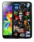 HORROR MOVIE COLLAGE RUBBER CASE FOR SAMSUNG NOTE 3 4 5