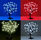 Christmas Tree 96 LED Blossom 60cm Tree Low Voltage Indoor Outdoor Xmas Tree