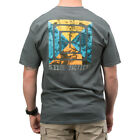 5.11 TACTICAL SCOPE PHOTO MENS T-SHIRT COTTON TOP GRAPHIC LOGO TEE CHARCOAL GREY