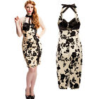 Jawbreaker Lola Vavoom Wiggle Party Dress Pinup Rockabilly 50's Black Retro Prom