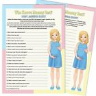 Who Knows Mummy Best? - Baby Shower Game,10/20 Party Players,Unisex Boy Girl mum
