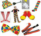 ADULT CLOWN COSTUME ACCESSORIES CLOWNS & CIRCUS FANCY DRESS SHOES