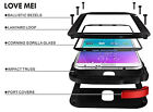 Shockproof Aluminum Gorilla Glass Metal Case Cover For Samsung Galaxy Note 4