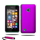 For Nokia Lumia 530 Armour Hard Shell Case Cover + Screen Protector + Stylus