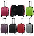 Medium 60 ltr Hard Shell 4 Wheel Spinner Suitcase ABS Luggage Trolley Case SALE
