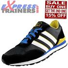 Adidas Mens Runneo V Jogger Classic Casual Trainers Black * AUTHENTIC *
