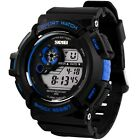 S SHOCK Digital LED Multifunction Silicone Military Fashion Men Sport Wristwatch