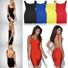 Sexy Women Lady Backless Cocktail Party Evening Bandage Bodycon Dress Skirts