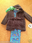 New Primark baby boys dressing gown bath robe and spaceship pyjamas and toy